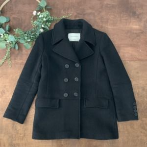 Zara Double Breasted Peacoat | Size M/L